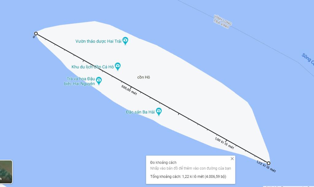 Bản đồ Cồn Hô